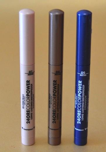 """Las nuevas propuestas de DEBORAH MILANO: las sombras de ojos en stick """"24 Ore Color Power"""" y las máscaras """"24 Ore Instant Maxi Volume"""