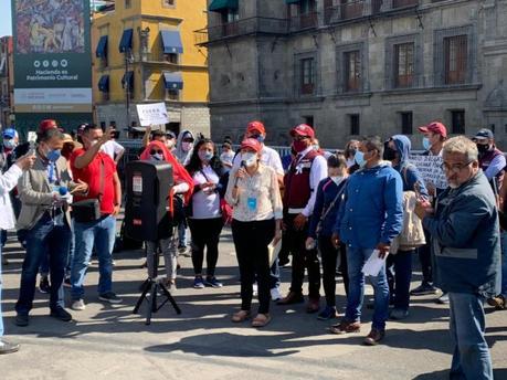 Francisca llega a CDMX tras 17 días de caminata contra la «imposición en MORENA»