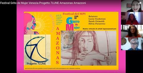 Grito de Mujer 2021-Venecia-Italia