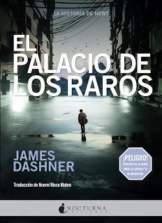 El palacio de los raros, de James Dashner