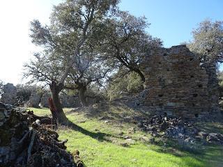 Imagen del mes: Ruinas de la Ermita de San Frutos, o de San Fructuoso, en las cercanías de Fregenal de la Sierra