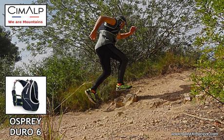 Mochila Osprey Duro 6 de CimAlp.... Trail Running...!!!