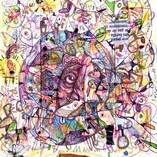 Colección artística: Dibujos mientras hay una junta en la LIE
