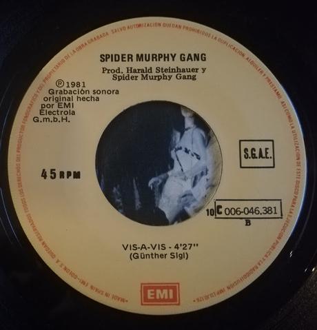 Spider Murphy Gang - Skandal Im Sperrbezirk (Escandalo En La Ciudad) 7