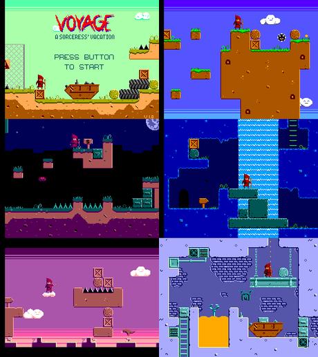 [ROM hack] Voyage – A Sorceress' Vacation (Sega Master System)