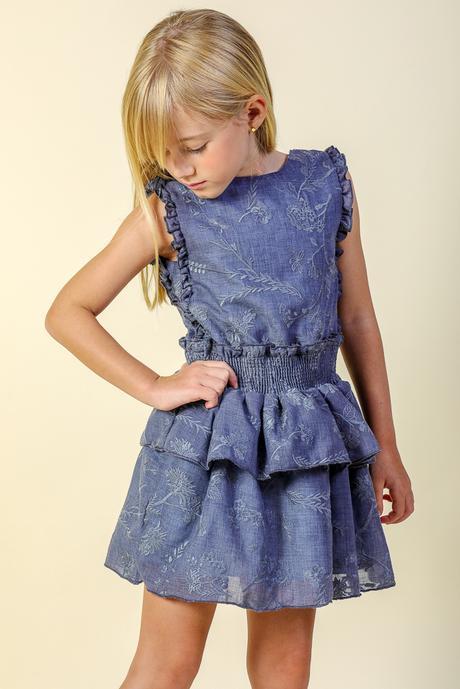 Moda infantil NUECES KIDS, colección primavera verano