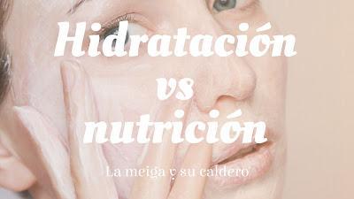Hidratación vs nutrición