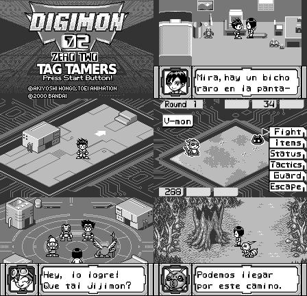 Digimon Adventure 02: Tag Tamers de WonderSwan traducido al español