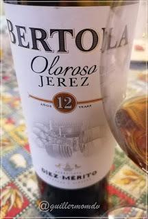 Oloroso Bertola 12 Años, de Díez-Mérito.