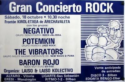 Conciertos Internacionales 80-81