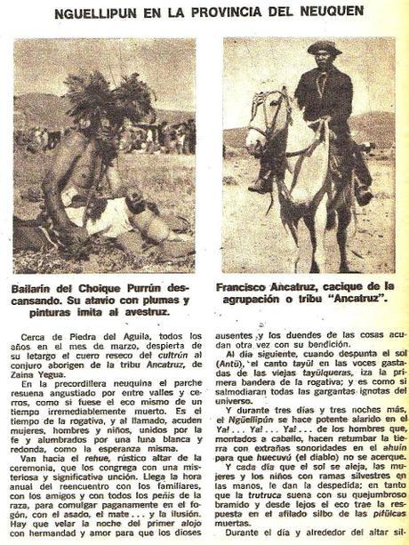 Rogativa Mapuche en la Comunidad Ancatruz