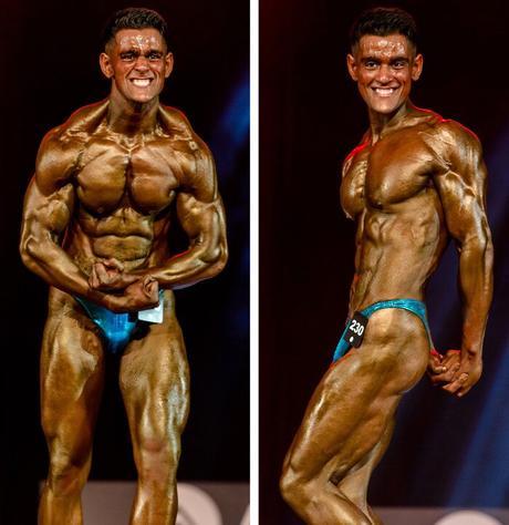 Ajay Sharma en competición