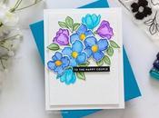 No-line Watercolor Florals