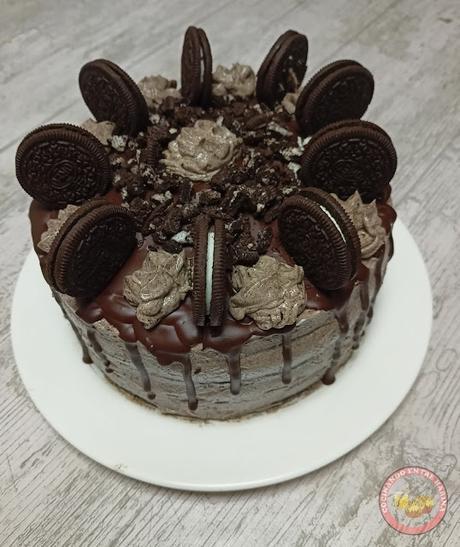 LAYER CAKE VEGANO DE OREO