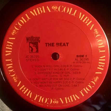 The Beat -Paul Collins beat Lp 1979