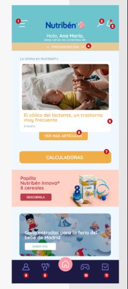 Nutribén+ la App con promociones, consulta a pediatra, calculadoras y más!!!