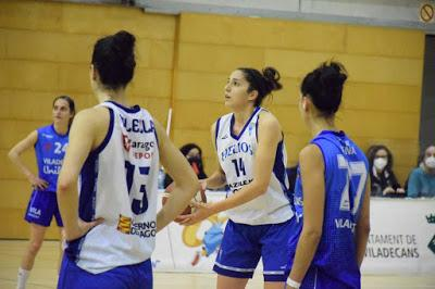 Galería de clics del Bàsquet Femení Viladecans-CN Helios (Liga Femenina 2)