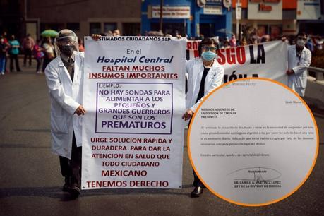 Cancelan cirugías en el Hospital Central por falta de insumos