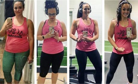 Ashley Moores progresa a lo largo de su transformación