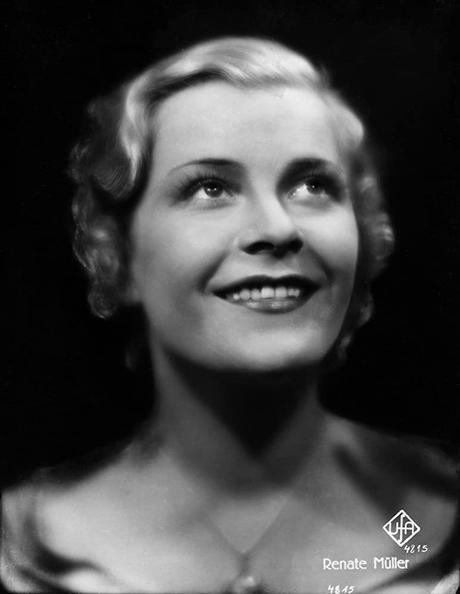 Renate Müller, Renata Muller,Marlene Dietrich,cine alemán,Weimar,expresionismo,Max Reinhardt, Robert Wiene, Murnau, Fritz Lang, G.W. Pabst,Leni Riefenstahl,nazismo,UFA