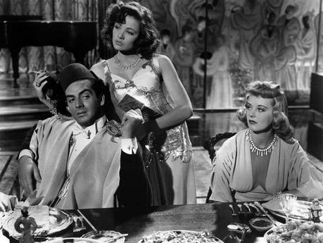 The Shanghai Gesture by Josef von Sternberg with Gene Tierney and Victor Mature, 1941 (b/w photo)' Photo | AllPosters.com