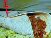 Burritos mexicanos carne cerdo ternera