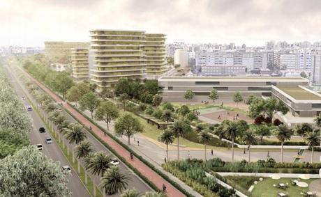 Nuevo barrio de Benimaclet  propuesto por la empresa Metrovacesa