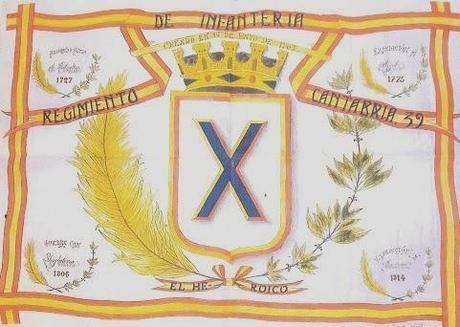 Regimiento de Infantería Cantabria nº 39,» EL HEROICO «
