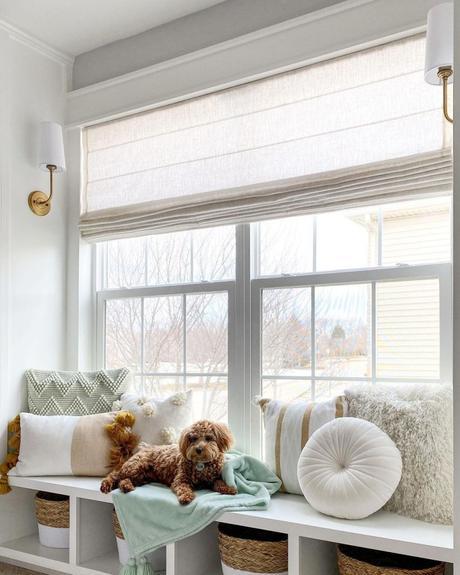 Un banco bajo la ventana ¡Ideas para vuestra casa!_2