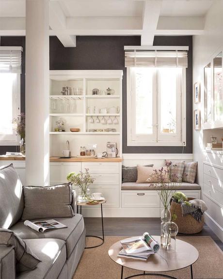 Un banco bajo la ventana ¡Ideas para vuestra casa!_12