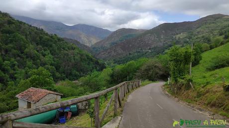 Llegada a Tablado desde Tiblós, Belmonte