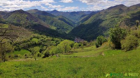 Vista de Belmonte desde Faedo