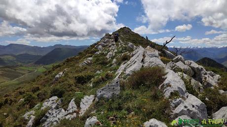 Arista cimera del Pico Matacaleao