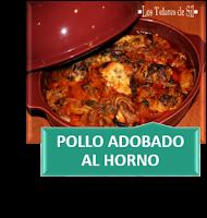 POLLO ADOBADO AL HORNO (CONCHA) TU♥RECETA EN MIS FOGONES