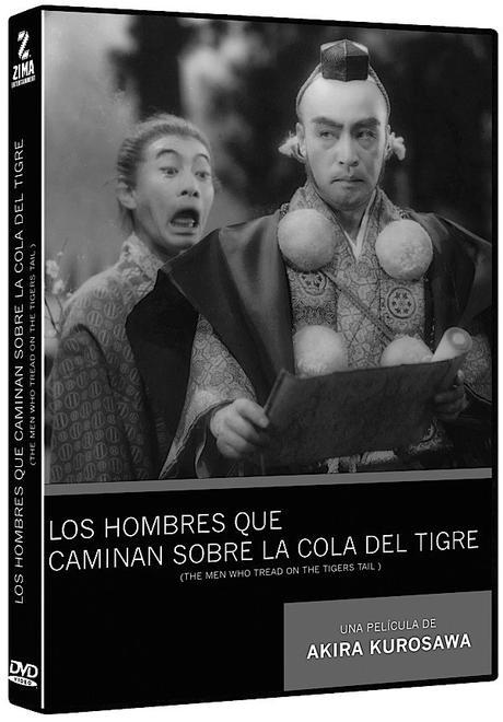 LOS HOMBRES QUE CAMINAN SOBRE LA COLA DEL TIGRE - Akira Kurosawa