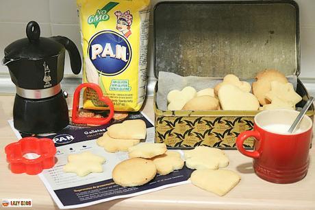 Galletas de corte sin gluten, receta fácil con harina de maíz blanco