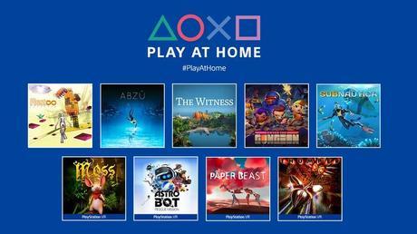 Play at Home, 9 juegos gratis para PlayStation 4 por tiempo limitado