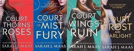 Reseña #233 | Trilogía Una Corte de Rosas y Espinas - Sarah J Maas