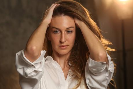 Elia Fernandez actress by Moisés Fernández