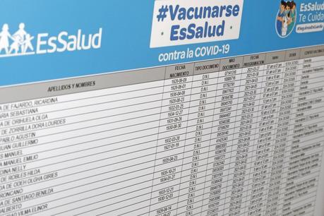 EsSalud: conoce aquí el padrón del cuarto grupo de adultos mayores que serán vacunados