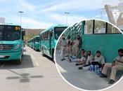 Chóferes Transportes Tangamanga entran huelga