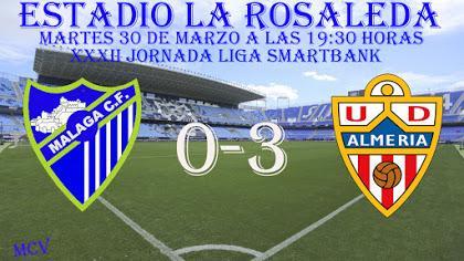 MALAGA CF 0-3 UD ALMERIA