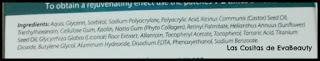 Ingredientes Parches de ojos colágeno antibolsas y antiojeras L'Biotica en Notino