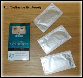 Parches de ojos colágeno antibolsas y antiojeras L'Biotica en Notino