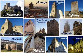 Colaboraciones de Extremadura, caminos de cultura: Conjuntos histórico-artísticos de la provincia de Badajoz, del Proyecto Audiovisual Extrema Dorii