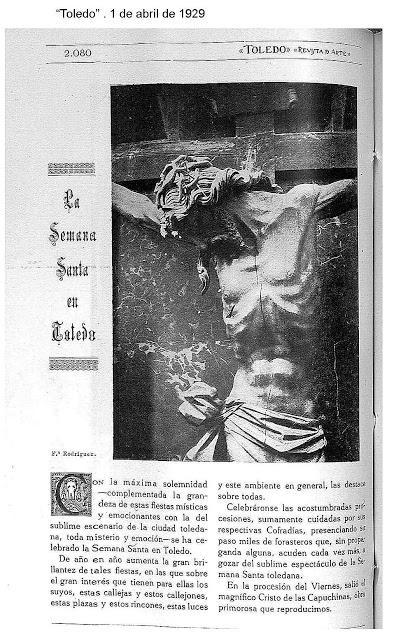 La Semana Santa a través de la prensa histórica