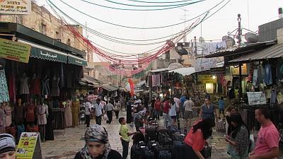 Caminar, rezar, y comprar en Israel