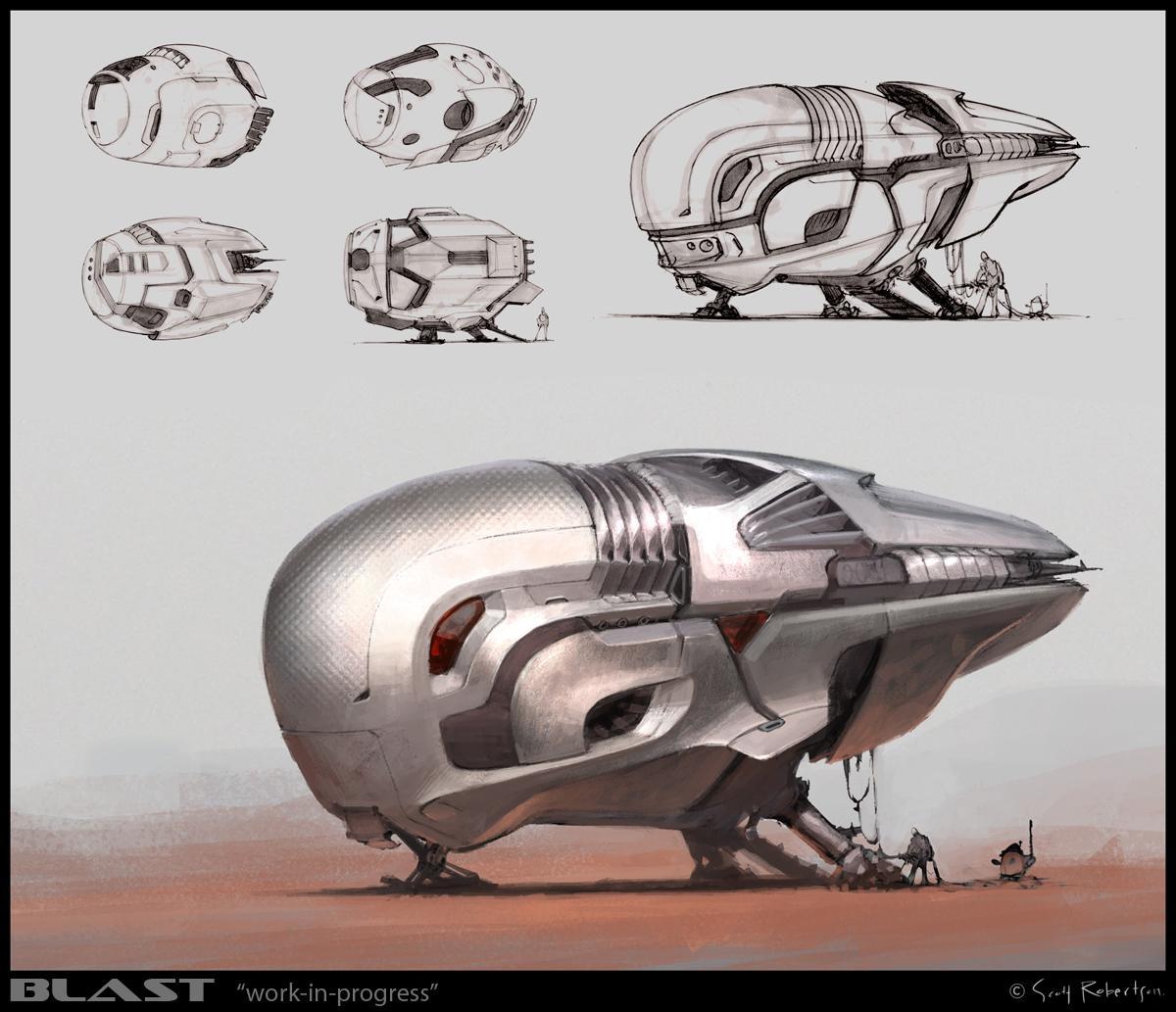 amazoncom blast spaceship sketches and renderings - HD1200×1033