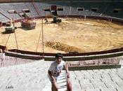 Córdoba: Comenzaron obras rebaje ruedo califas para semifinales Copa Davis tenis