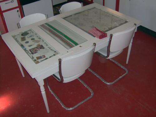 T preguntas qu patas poner a una mesa hecha con una for Mesas con puertas